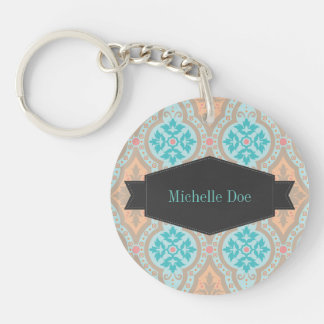 Dazzling Bollywood Fancy Patterns Keychain