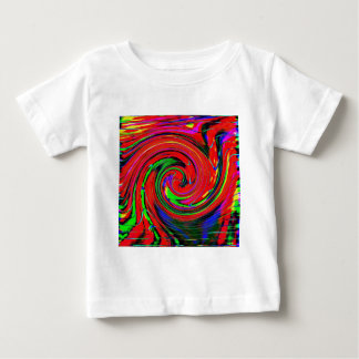 Dazzling, bright. cheerful, colorful, abstract, baby T-Shirt