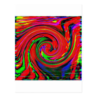 Dazzling, bright. cheerful, colorful, abstract, postcard