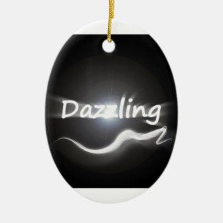 Dazzling Ceramic Ornament