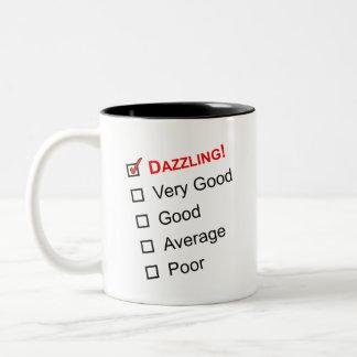 DAZZLING Customer Service Award Mugs