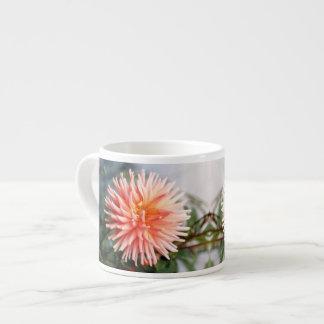 Dazzling Dahlia Flower Espresso Cup