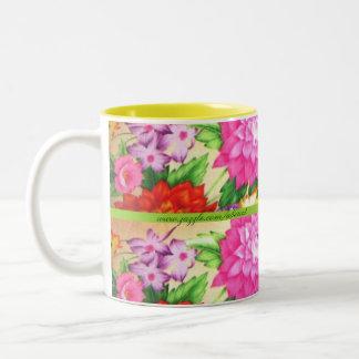 Dazzling Dahlias Coffee and Tea Mug
