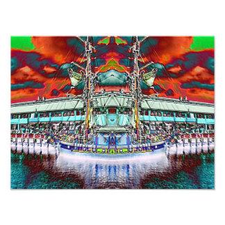 Dazzling Docks Photo Print