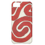 Dazzling earth red graphic iPhone 5C case