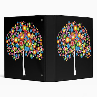 Dazzling Family Tree 3 Ring Binder