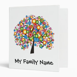 Dazzling Family Tree 3 Ring Binders