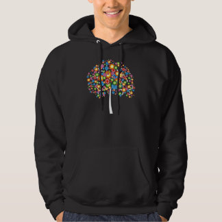Dazzling Family Tree Hooded Pullover
