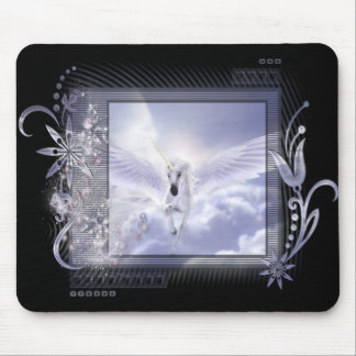 Dazzling Flying Unicorn Tag Series Mouse Pad