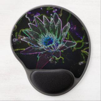 Dazzling Glow Lotus Gel Mouse Pad
