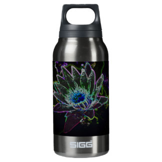 Dazzling Glow Lotus Insulated Water Bottle