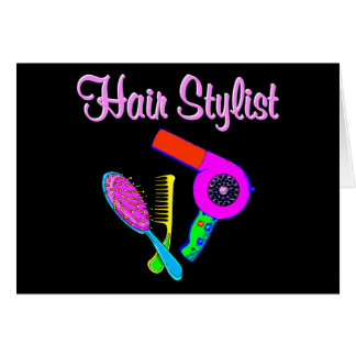 DAZZLING HAIR STYLIST TEES AND GIFTS CARD