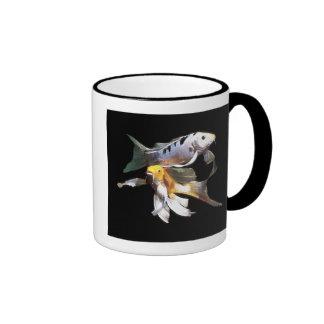 Dazzling Koi Pair Coffee Mug