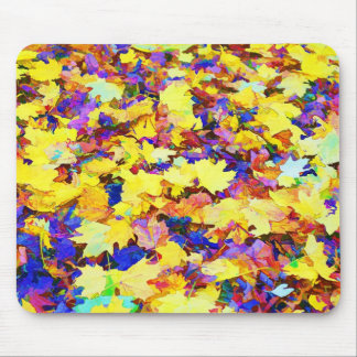 Dazzling Leaves Mousepad