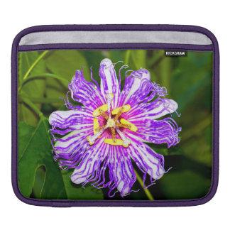Dazzling Passion Flower iPad Sleeve