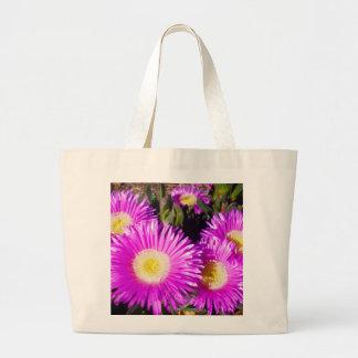 Dazzling_Purple_Daisies,_ Jumbo Tote Bag