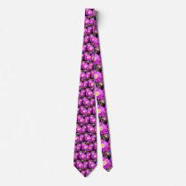 Dazzling_Purple_Daisies,_ Neck Tie