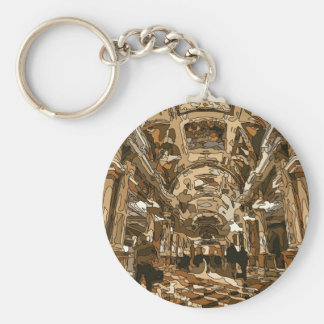 Dazzling Resort and Casino Lobby in Vegas Key Chains