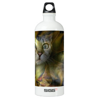 Dazzling Space Kitty collection Aluminum Water Bottle