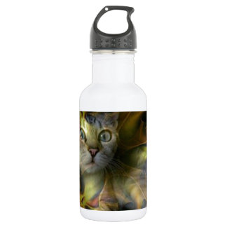 Dazzling Space Kitty collection Stainless Steel Water Bottle