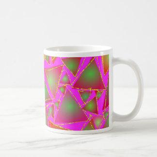Dazzling Triangles Coffee Mug