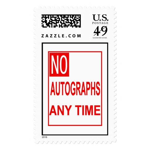 DB07 - No Auto Any Time - Large stamp