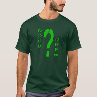 DB07-Question Mark - Green/Black - Basic Dark T-sh T-Shirt