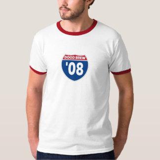 DB08 - Ringer - Red/ White T-Shirt