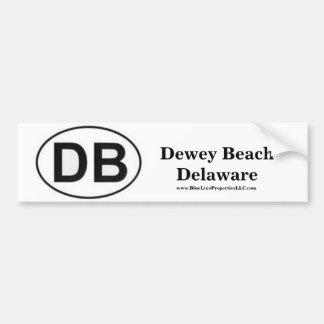 DB Bumper Sticker