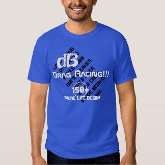 dB Drag Racing T-shirts