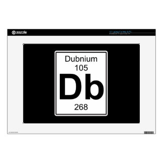 "Db - Dubnium 15"" Laptop Decal"