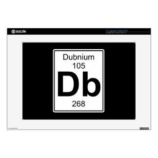 DB - Dubnium 38,1cm Portátil Calcomanía