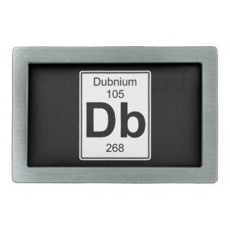 Db - Dubnium Belt Buckle