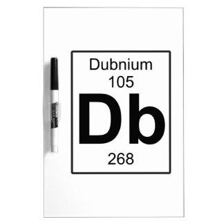 Db - Dubnium Dry-Erase Board