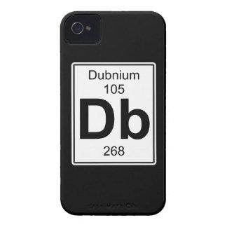 DB - Dubnium Funda Para iPhone 4 De Case-Mate