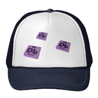 DB Dubnium Gorros Bordados