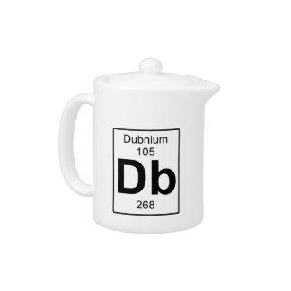 Db - Dubnium Teapot