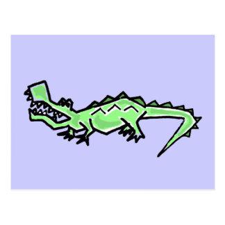 DB- Funky Gator Postcard