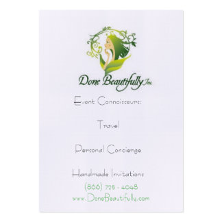 "DB presents ""How WE DO Travel"" Profile Cards Business Cards"
