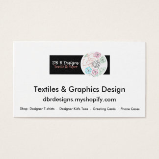 DB-R Designs Business Card