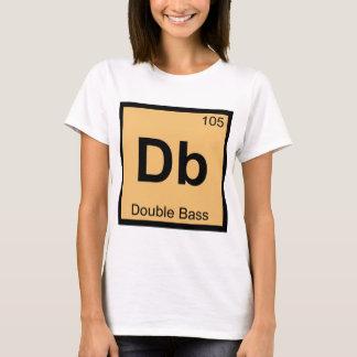 DB - Símbolo de la tabla periódica de la química Playera