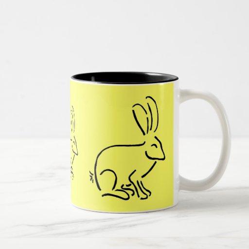 DB taza artsy del conejo