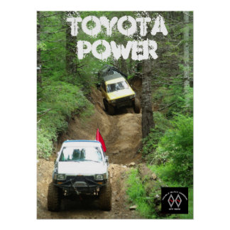 DBD Toyota Power Posters