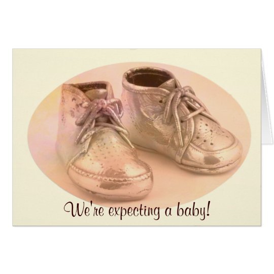 DBG© Baby Shoes Announcement