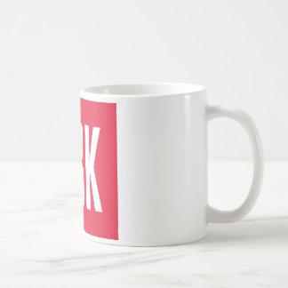 DBK Swag Classic White Coffee Mug