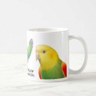 Dbl Yellow Head Amazon Parrot Mug
