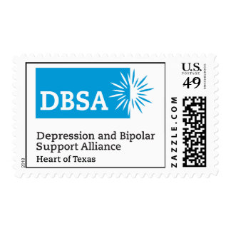 DBSA Heart of Texas Postage Stamps
