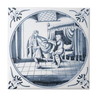 DBT01 Delft Biblical Design Ceramic Tile