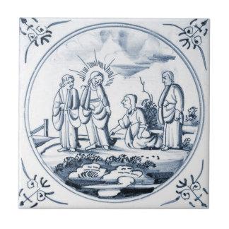 DBT05 Delft Biblical Design Ceramic Tile