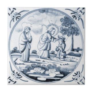 DBT06 Delft Biblical Design Ceramic Tile